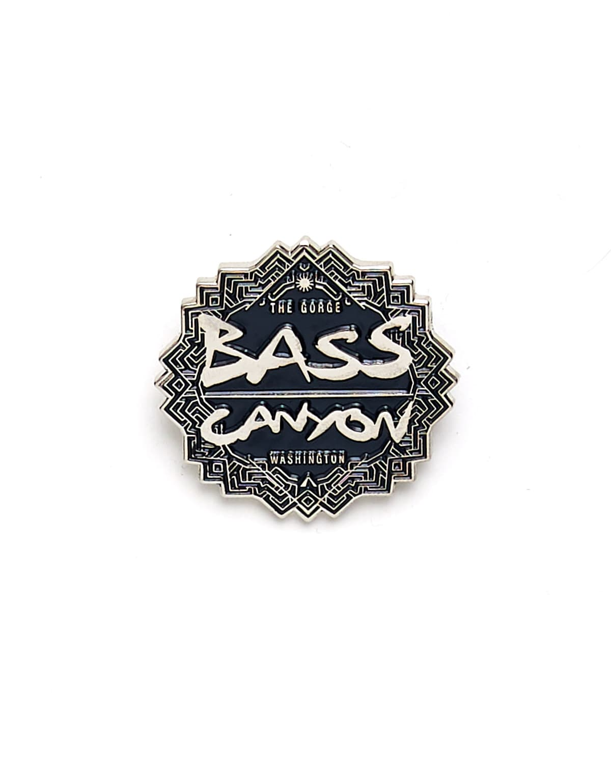Official Bass Canyon Enamel Pin