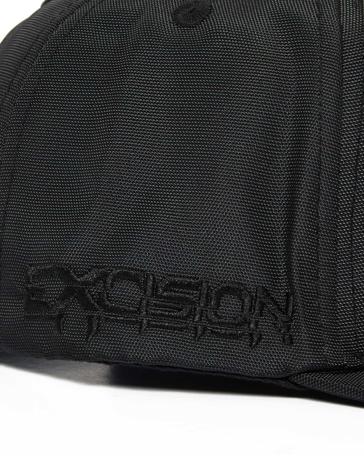 Excision 'Decepticon' Ballistic Snapback - Black