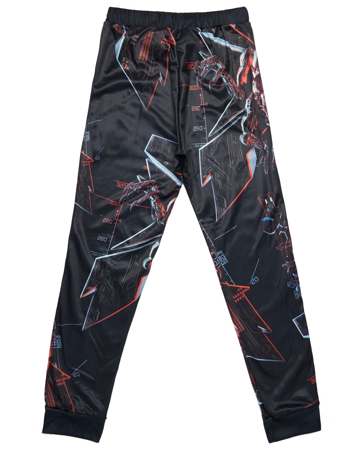 Excision 'Magnetite' Joggers - Black/Red