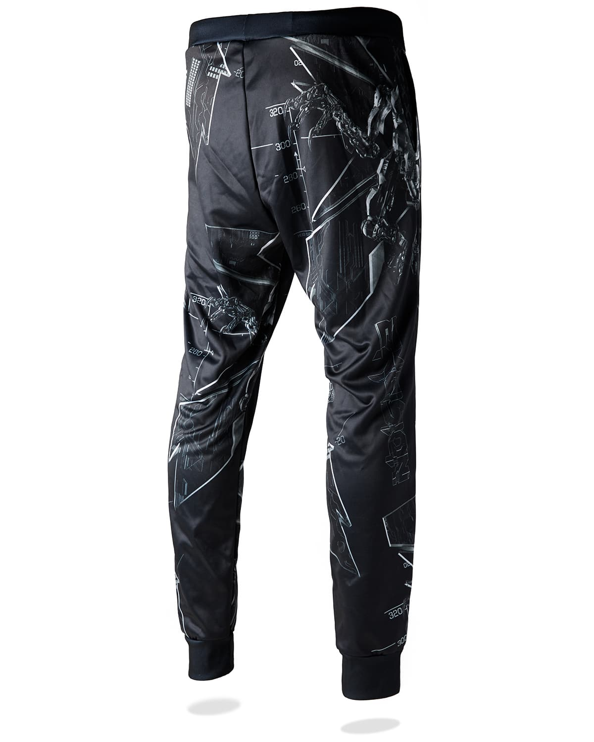 Excision 'Magnetite' Joggers - Black/White