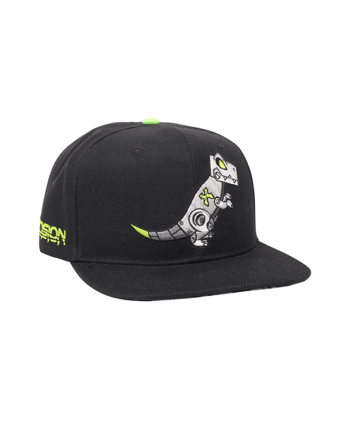 'Rexcision' Snapback - Black/Green