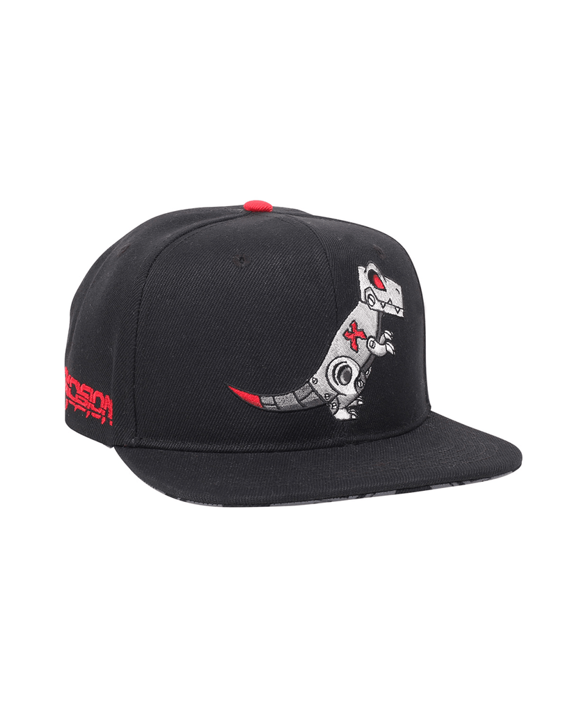 'Rexcision' Snapback - Black/Red