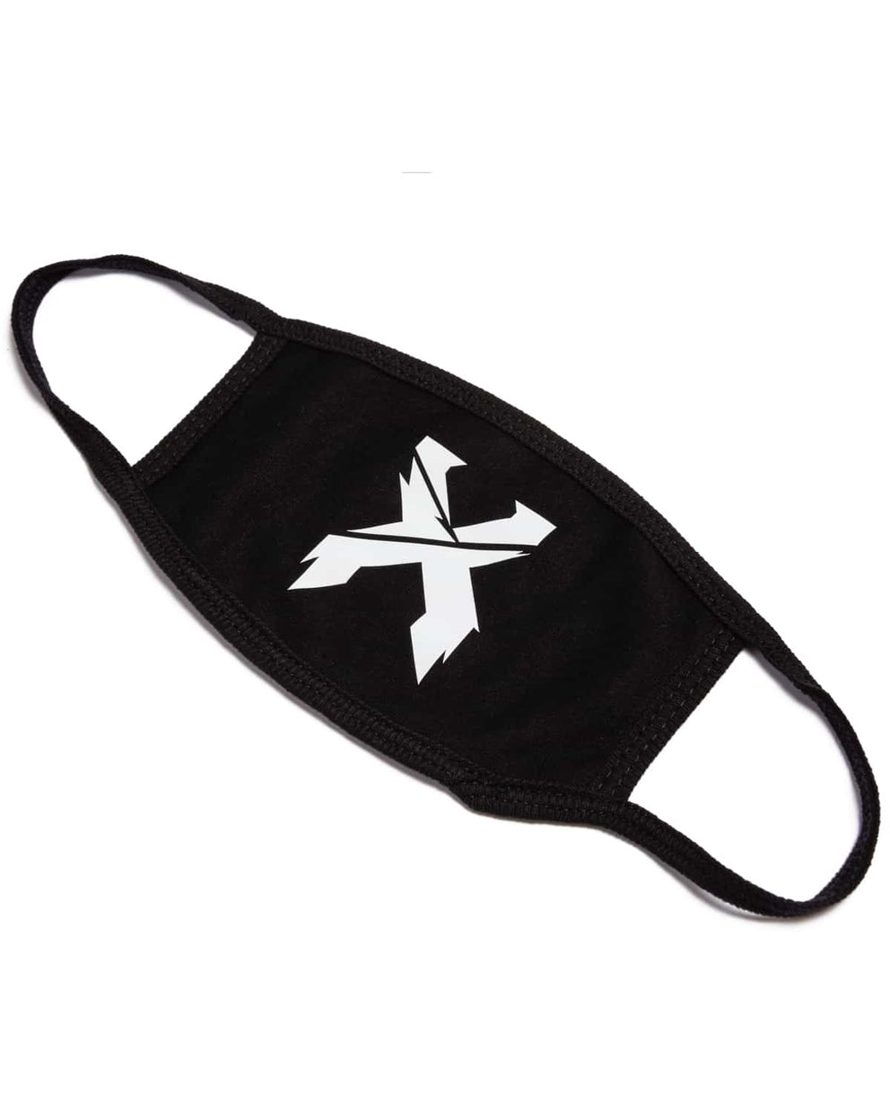 Excision 'Sliced' Logo Mouth Mask - Black