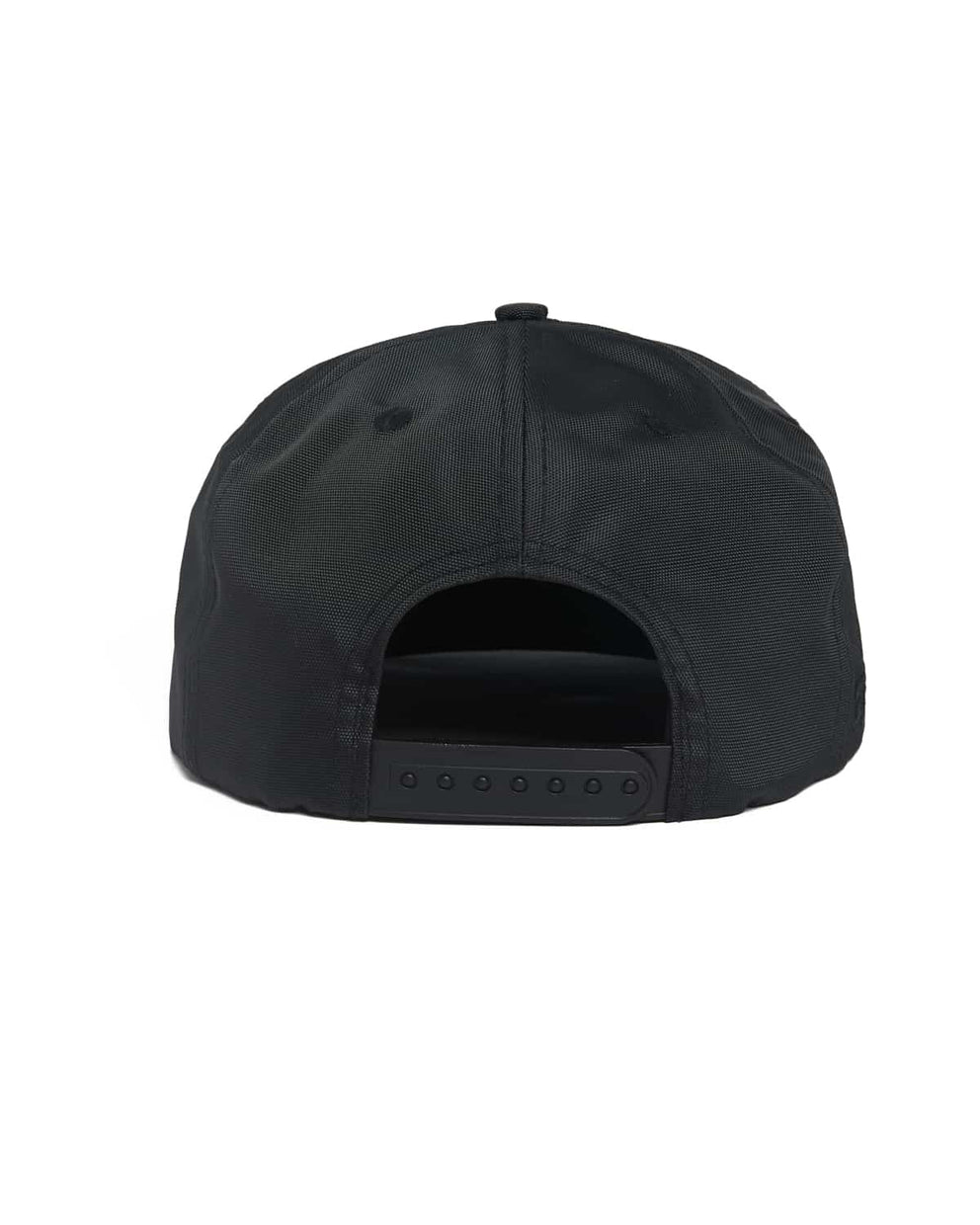 Excision 'Sliced' Patent Leather Visor Ballistic Snapback - Black