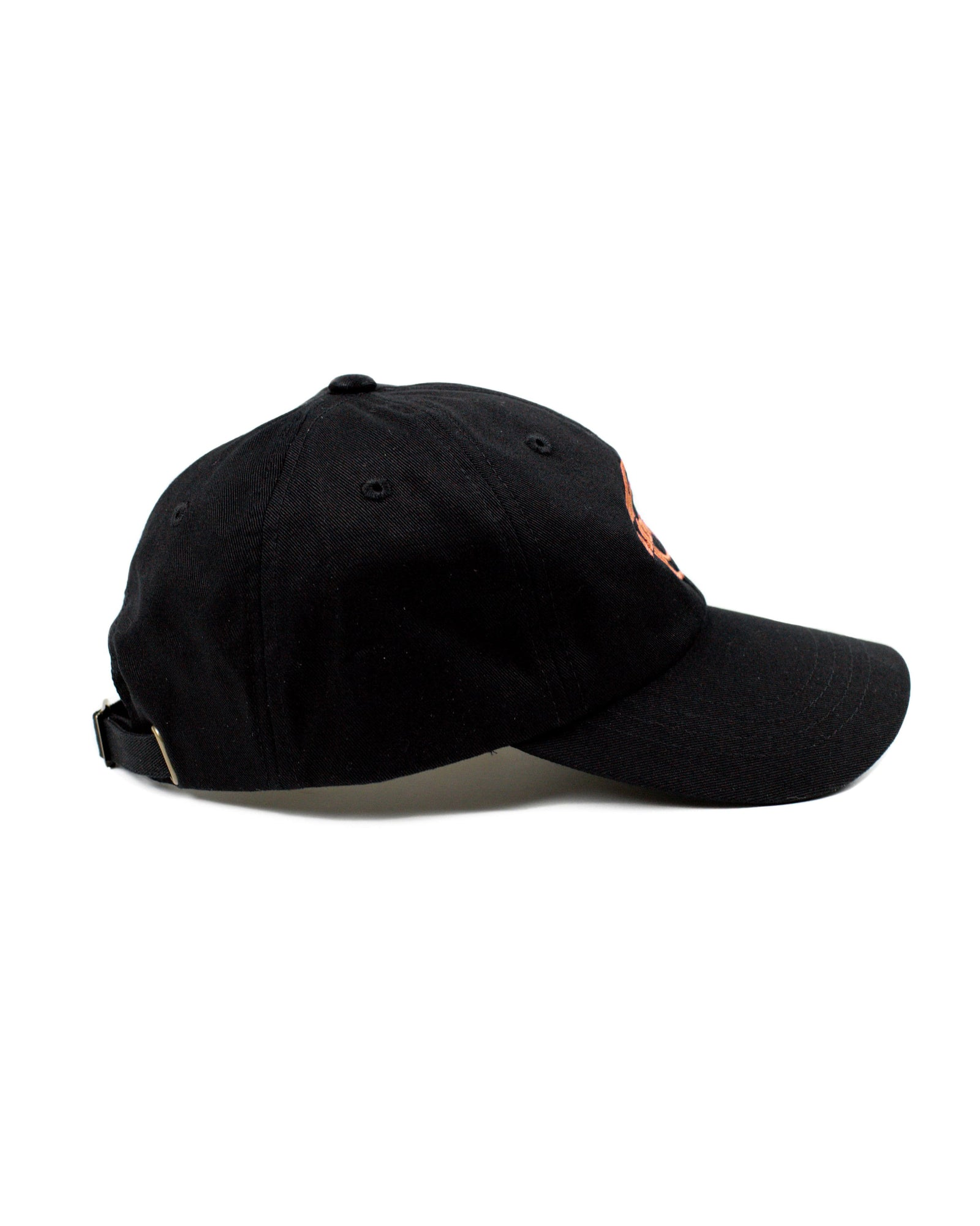 'Subsidia' Dad Hat - Black/Orange