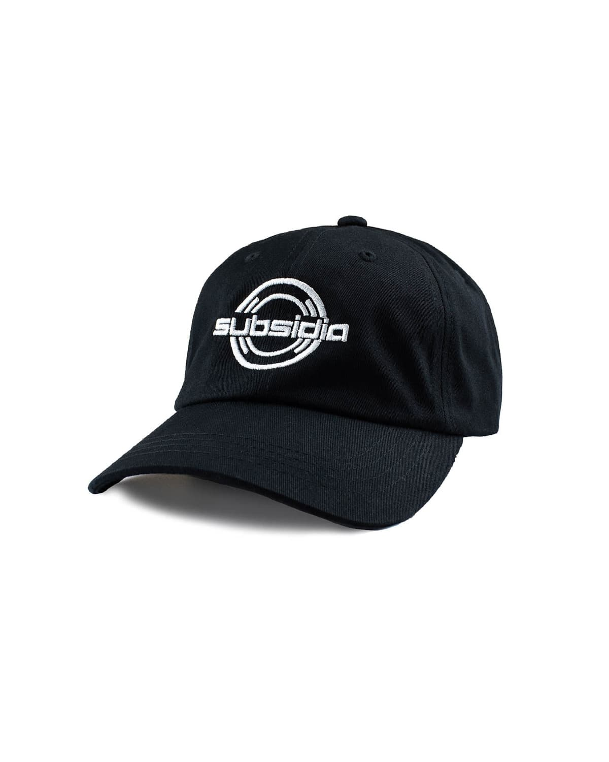 'Subsidia' Dad Hat - Black/White