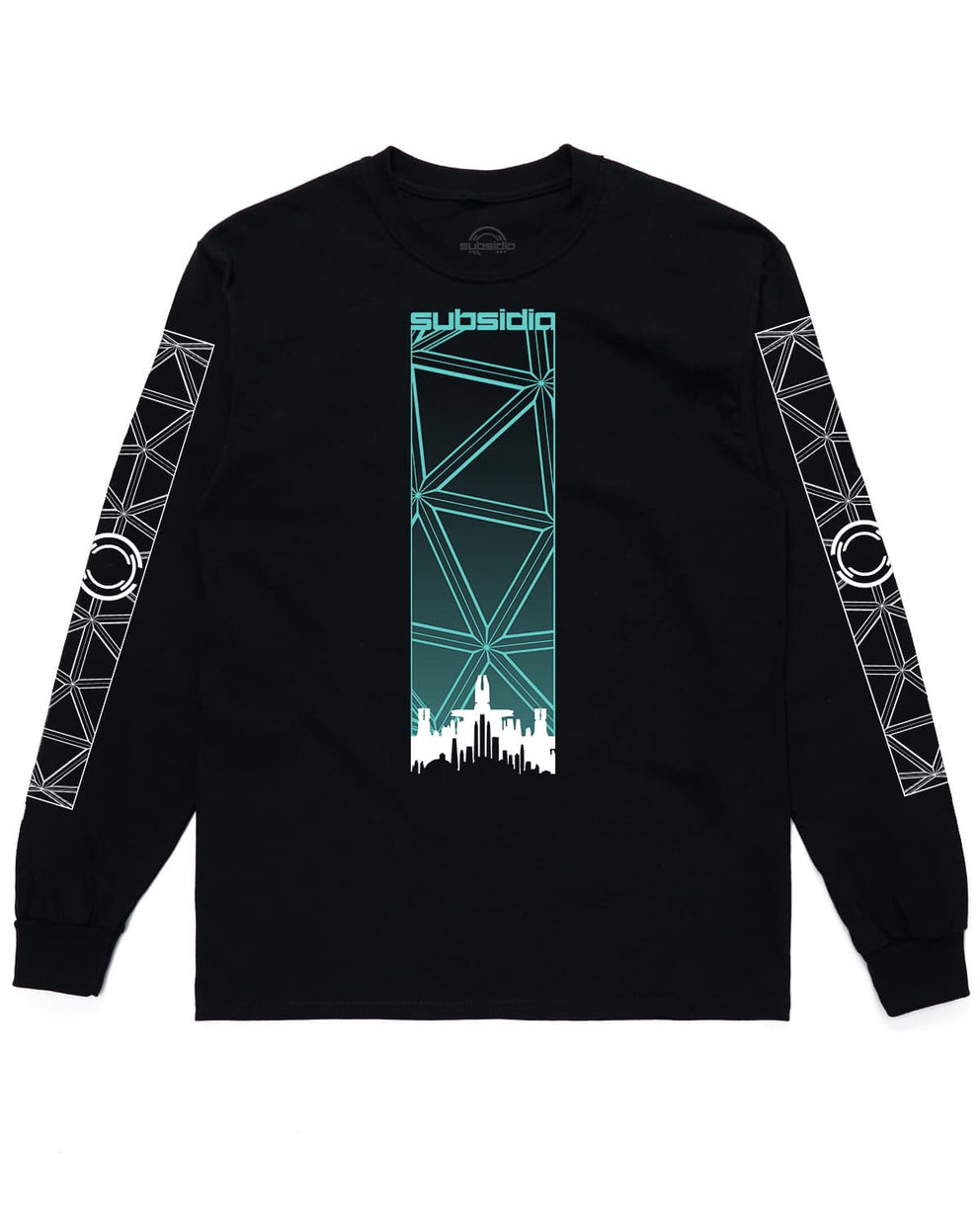 Subsidia 'Geometric' Long Sleeve Tee