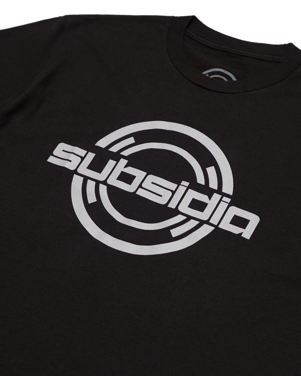 Subsidia 'Large Logo' Tee - Black/White