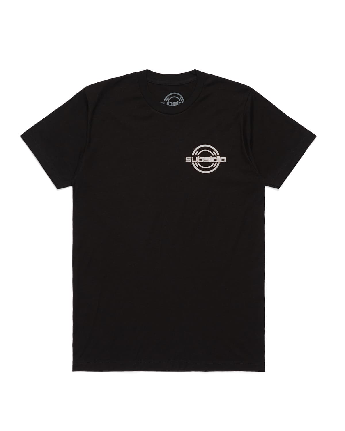 Subsidia 'Small Logo' Tee - Black/White