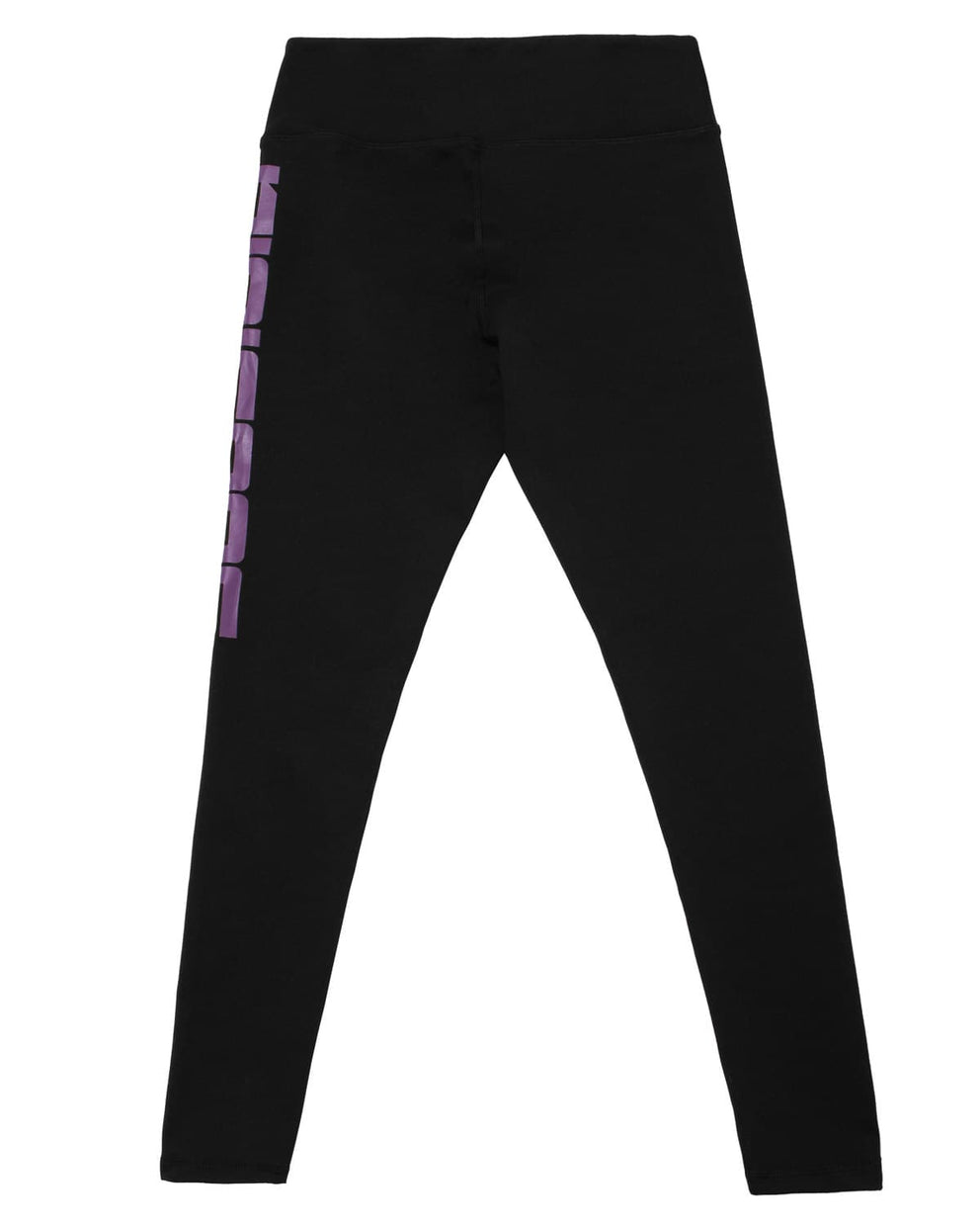 Subsidia Mid Waist Leggings - Black/Purple