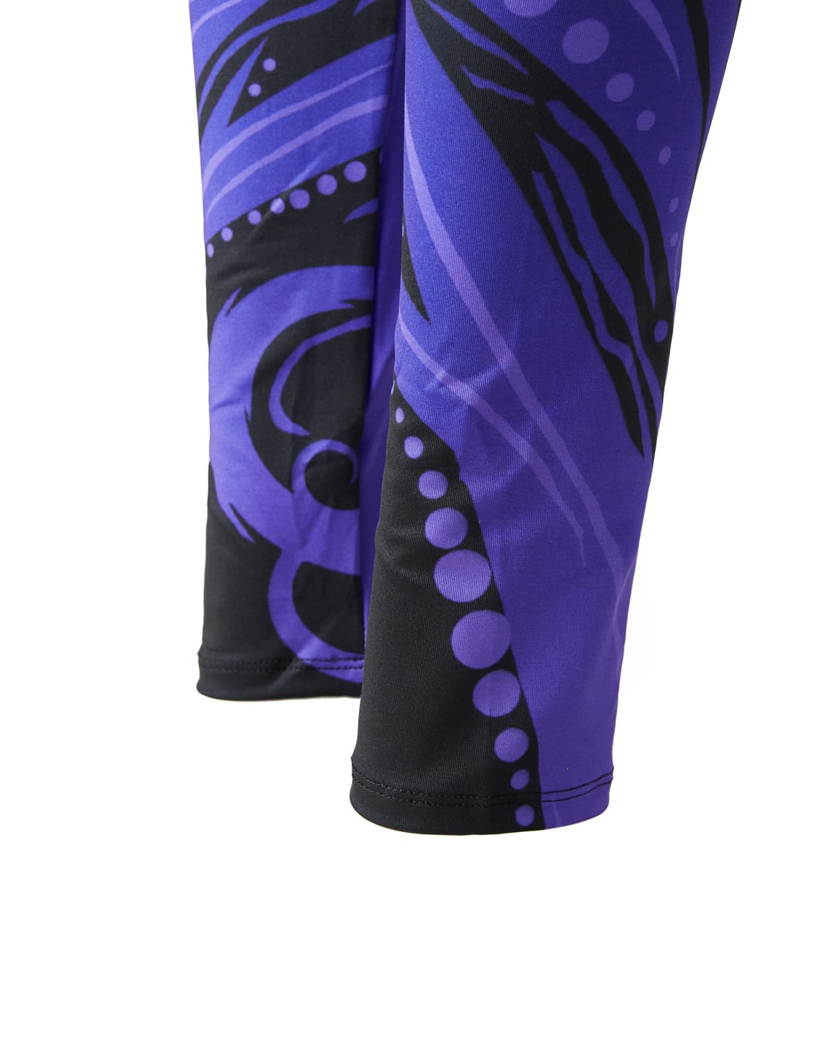 Lost Lands 'Crop Circle' Leggings (Purple)