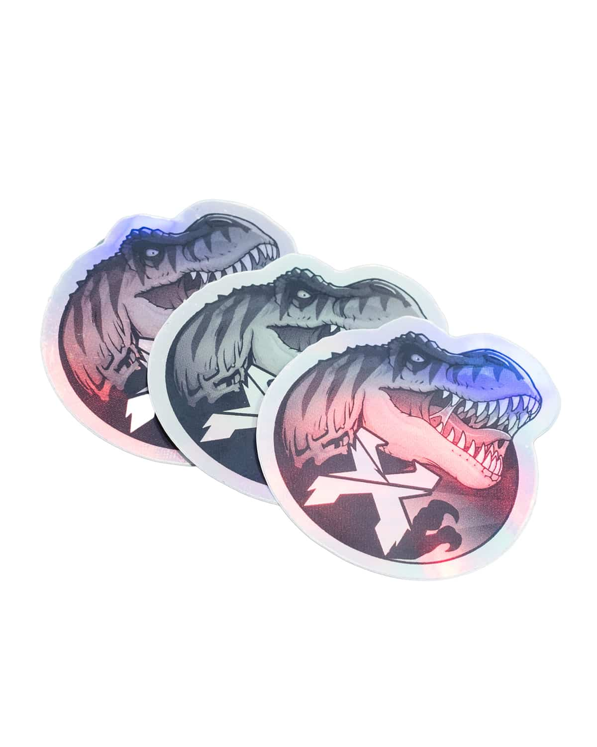 Triple Rex Sticker Pack