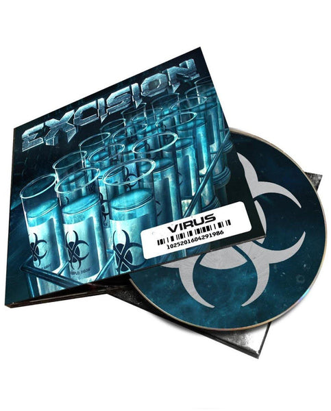 Excision 'Virus' CD + MP3 Download (PREORDER, Ships 12/14)