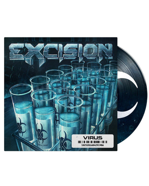 "Excision 'Virus' 12"" 2xLP Vinyl + MP3 Download (PREORDER, Ships 03/01)"