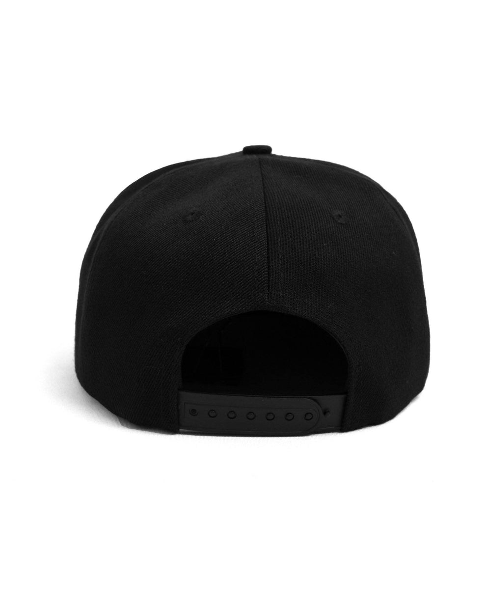 Excision 'Sliced' Snapback - Black/White