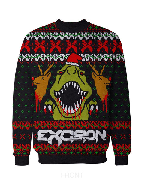 Merry X-mas Ugly Christmas Sweater Crewneck