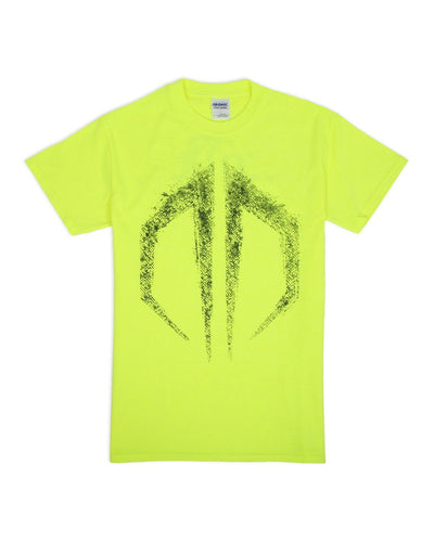 Destroid Grunge Unisex T-Shirt - Neon Yellow