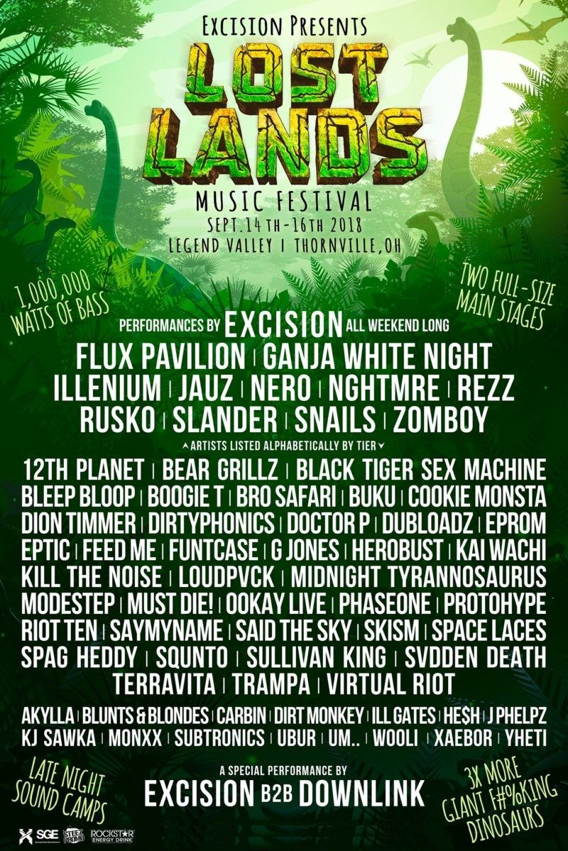 LOST LANDS 2018 OFFICIAL POSTER