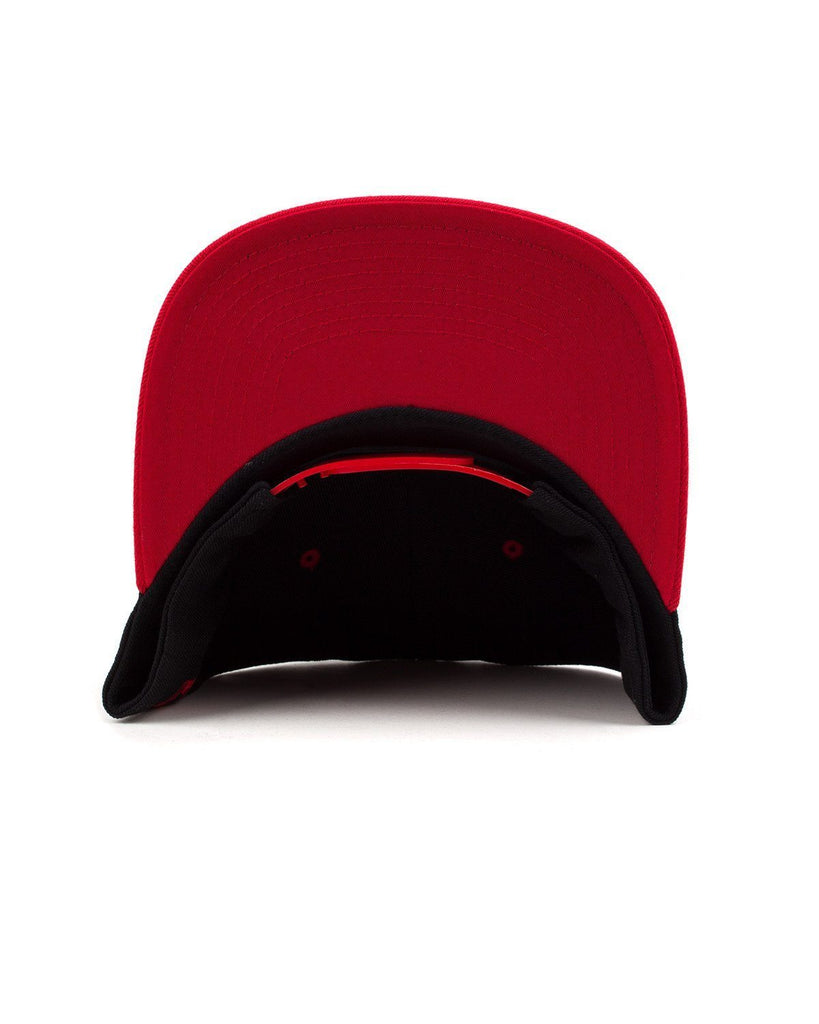 Excision Snapback Hat-Black/Red