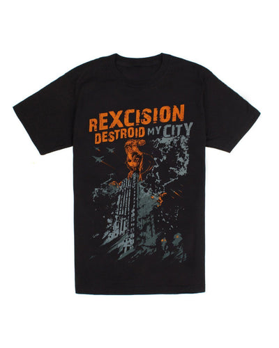 rExcision Destroid My City Unisex T-Shirt