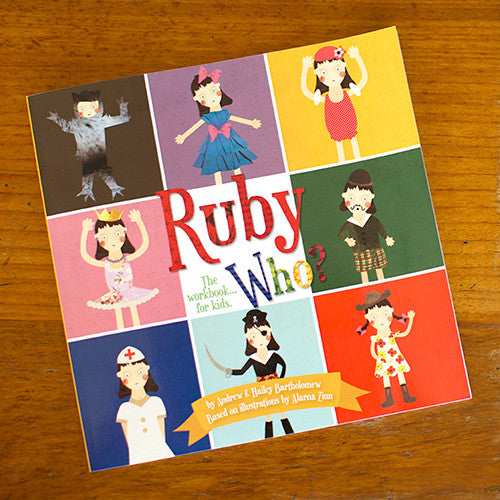 Ruby Who? Illustrated kids book