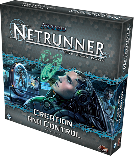 Android: Netrunner LCG  Creation and Control Deluxe Expansion