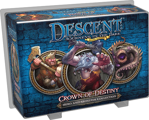 Descent 2nd Edition: Crown of Destiny (Hero and Monster Collection)