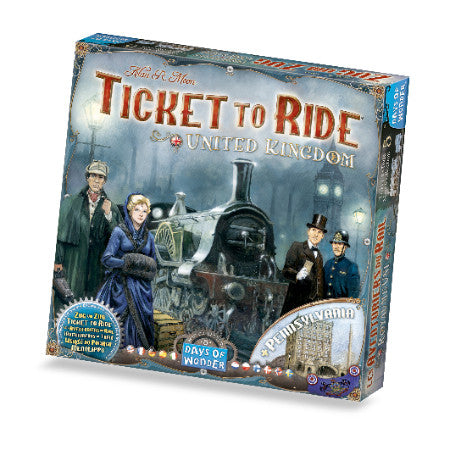 Ticket to Ride: UK Map