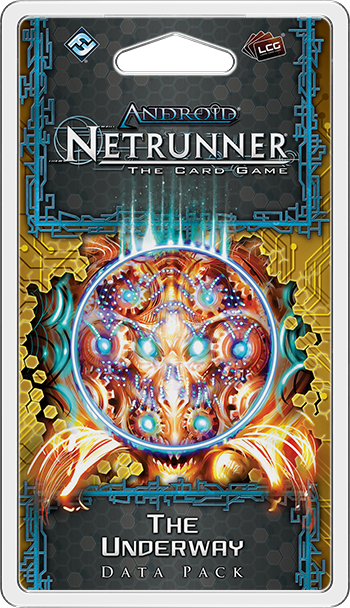 Android: Netrunner LCG The Underway Data Pack