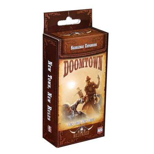 Doomtown Reloaded: Saddlebag 01 New Town New Rules Exp