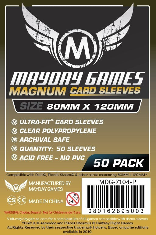 Mayday Magnum 80x120mm - 50 sleeves