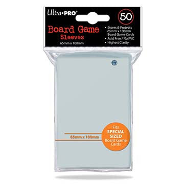 Ultra-Pro 50ct Clear Special Sized Deck Protectors (65mm x 100mm)