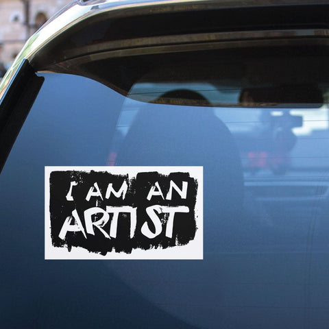I Am An Artist Sticker Decal