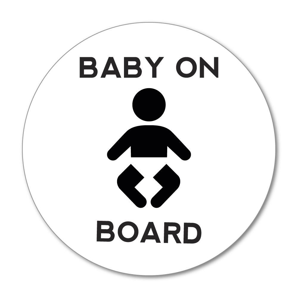 Baby On Board Sticker Decal