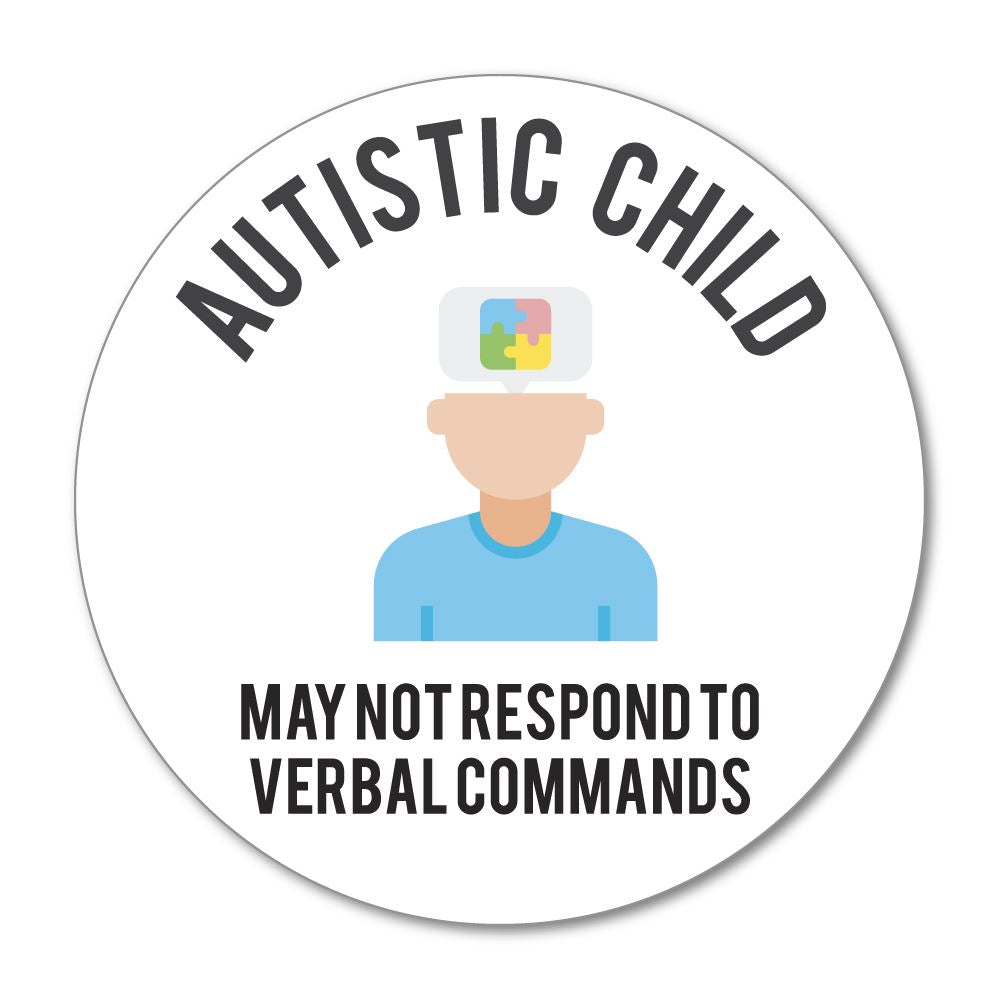 Autistic Child Sticker Decal