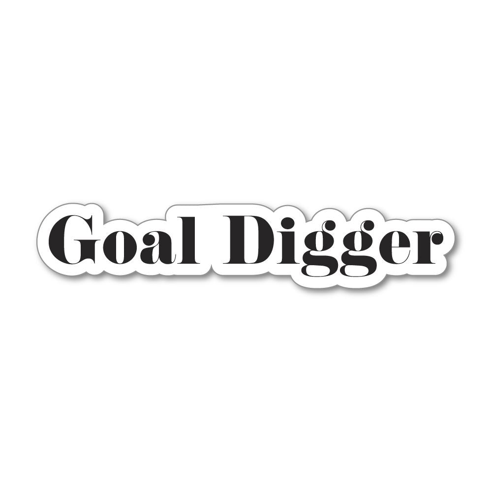 Goal Digger Sticker Decal