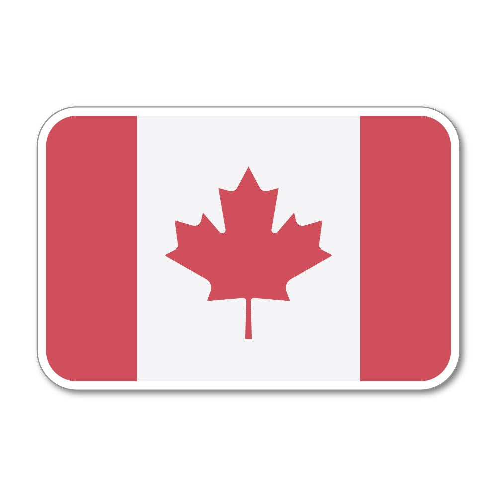 Canada Flag  Sticker Decal
