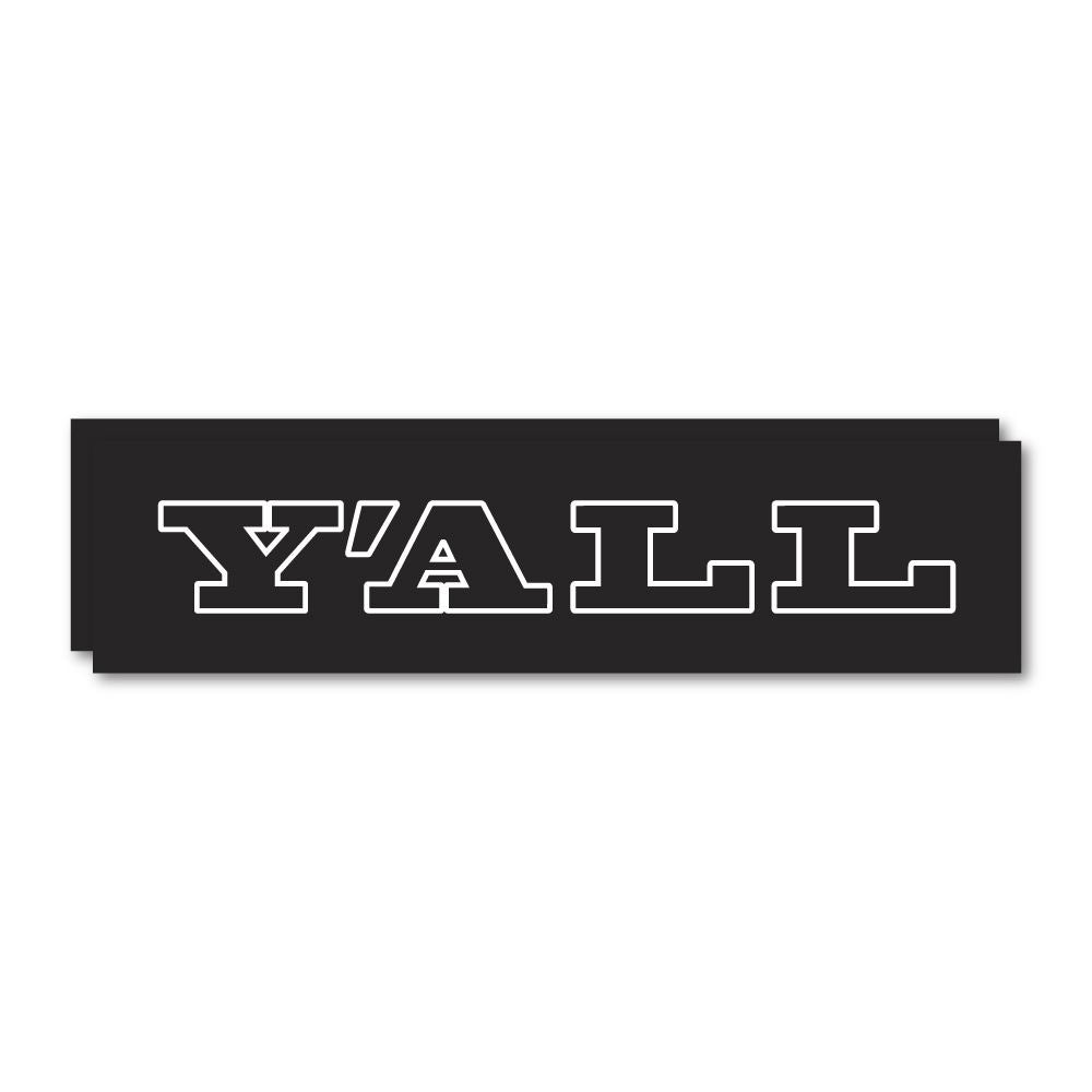 2X Y All Sticker Decal