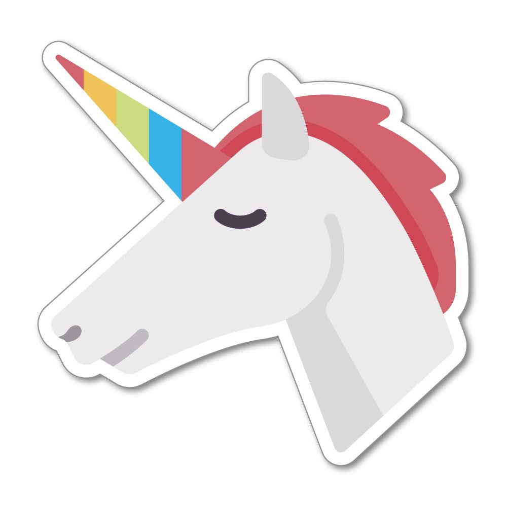 Unicorn Illustration Sticker Decal