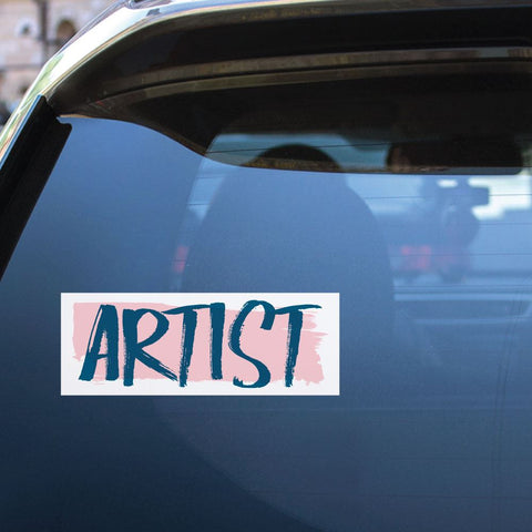 Artist  Sticker Decal