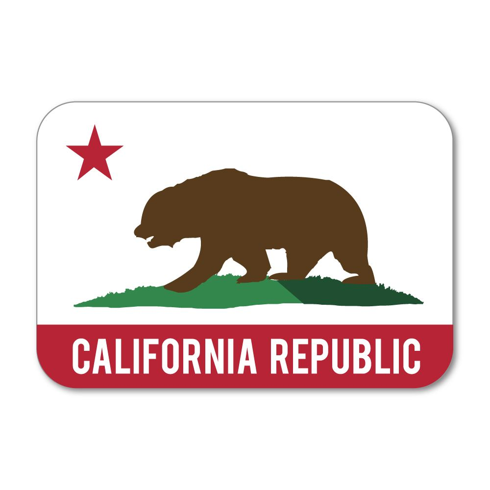 California Republic Sticker Decal