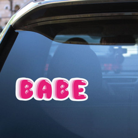 Babe Sticker Decal