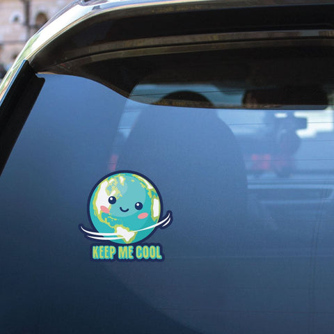 Keep Me Cool Sticker Decal