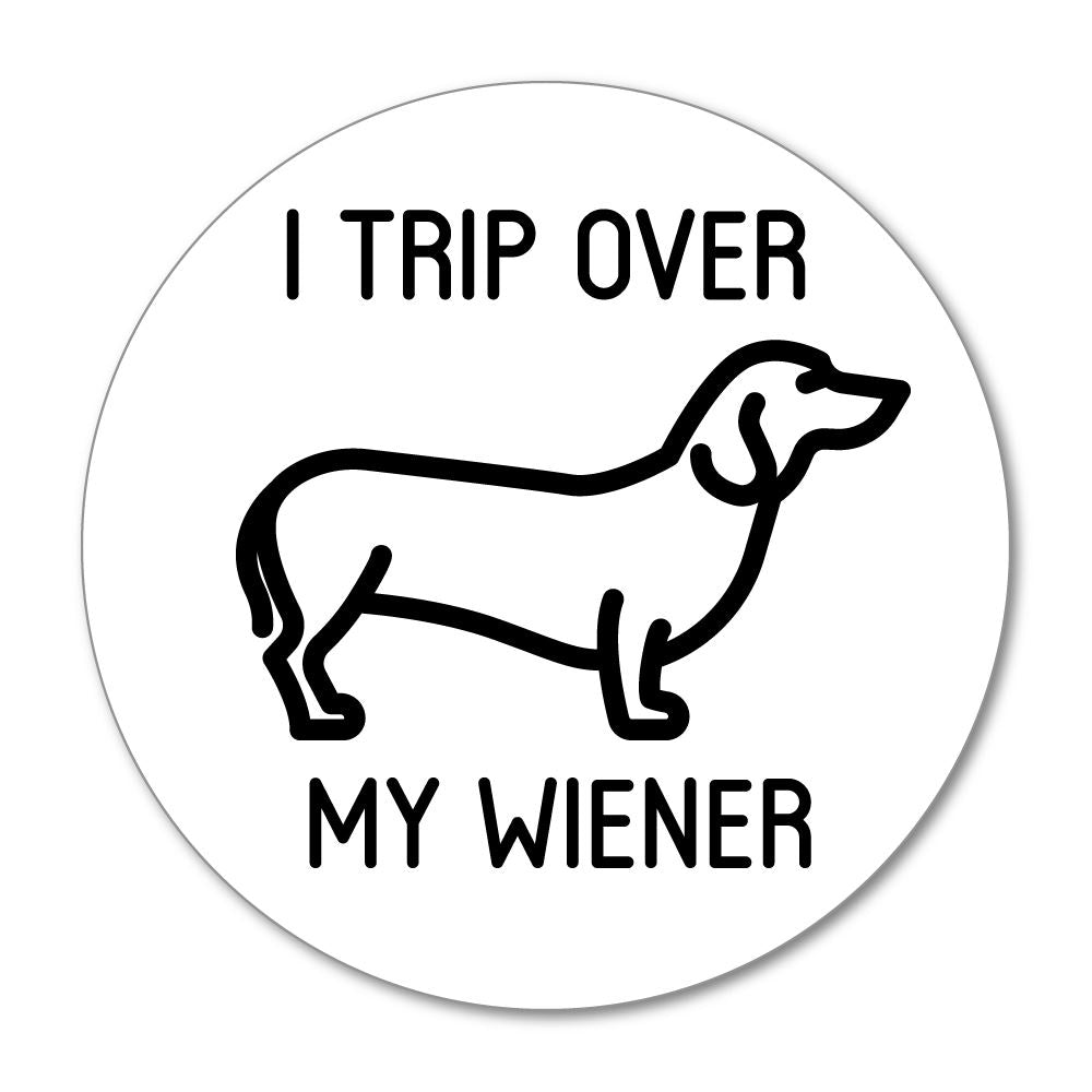 My Wiener Sticker Decal