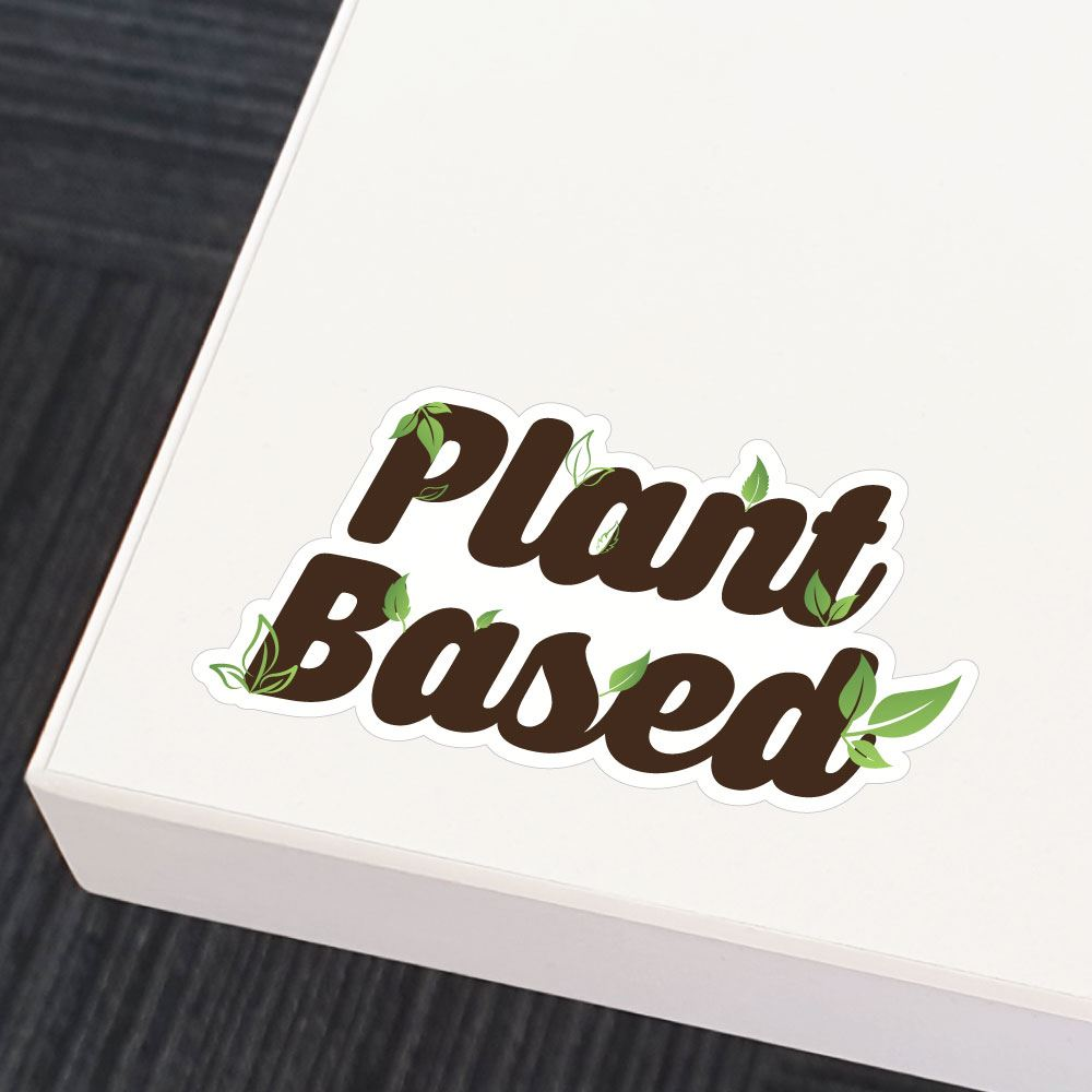 Plant Based Sticker Decal