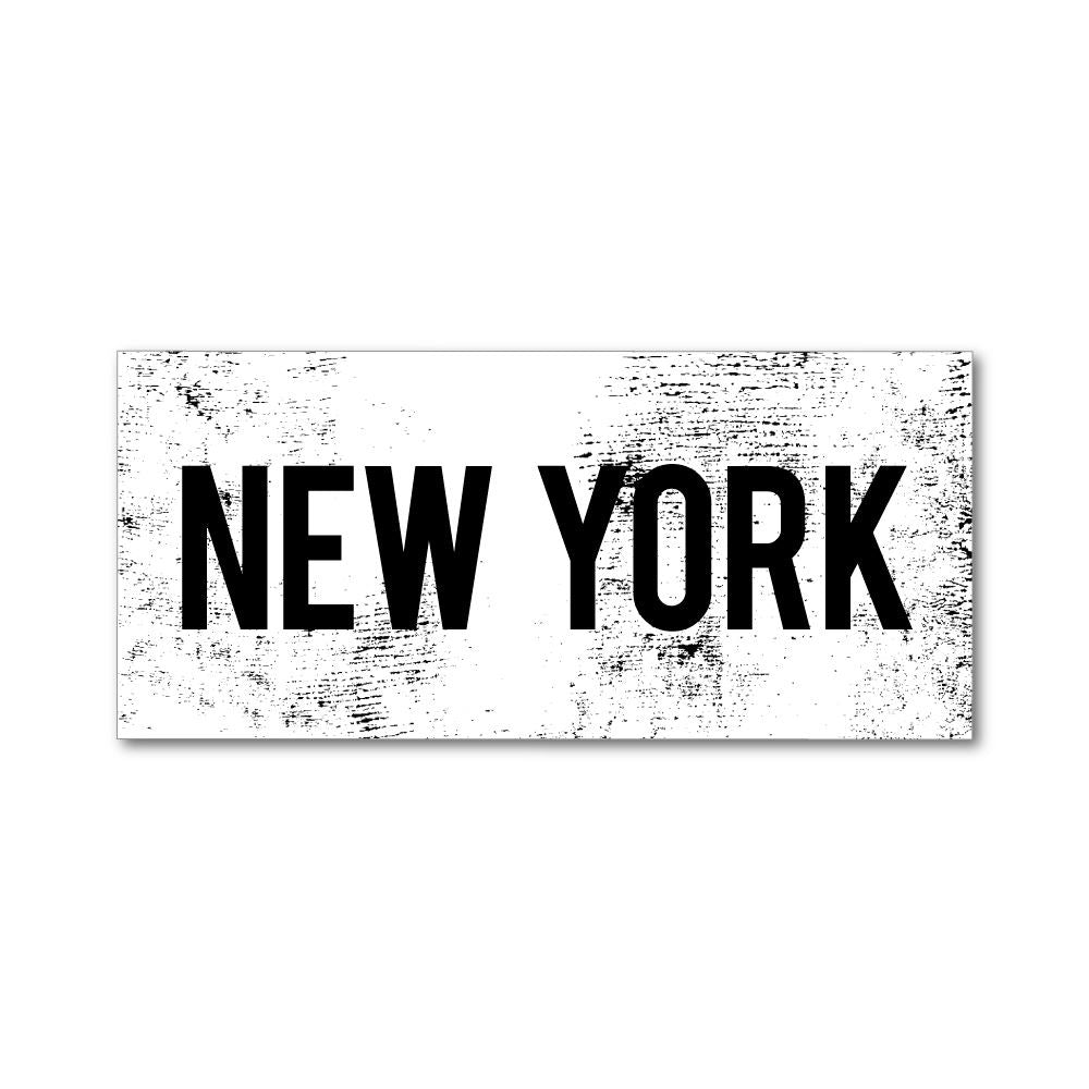 New York Sticker Decal