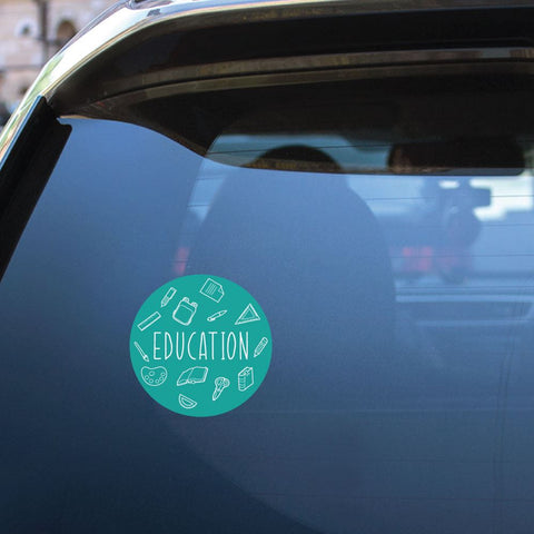 Education Sticker Decal