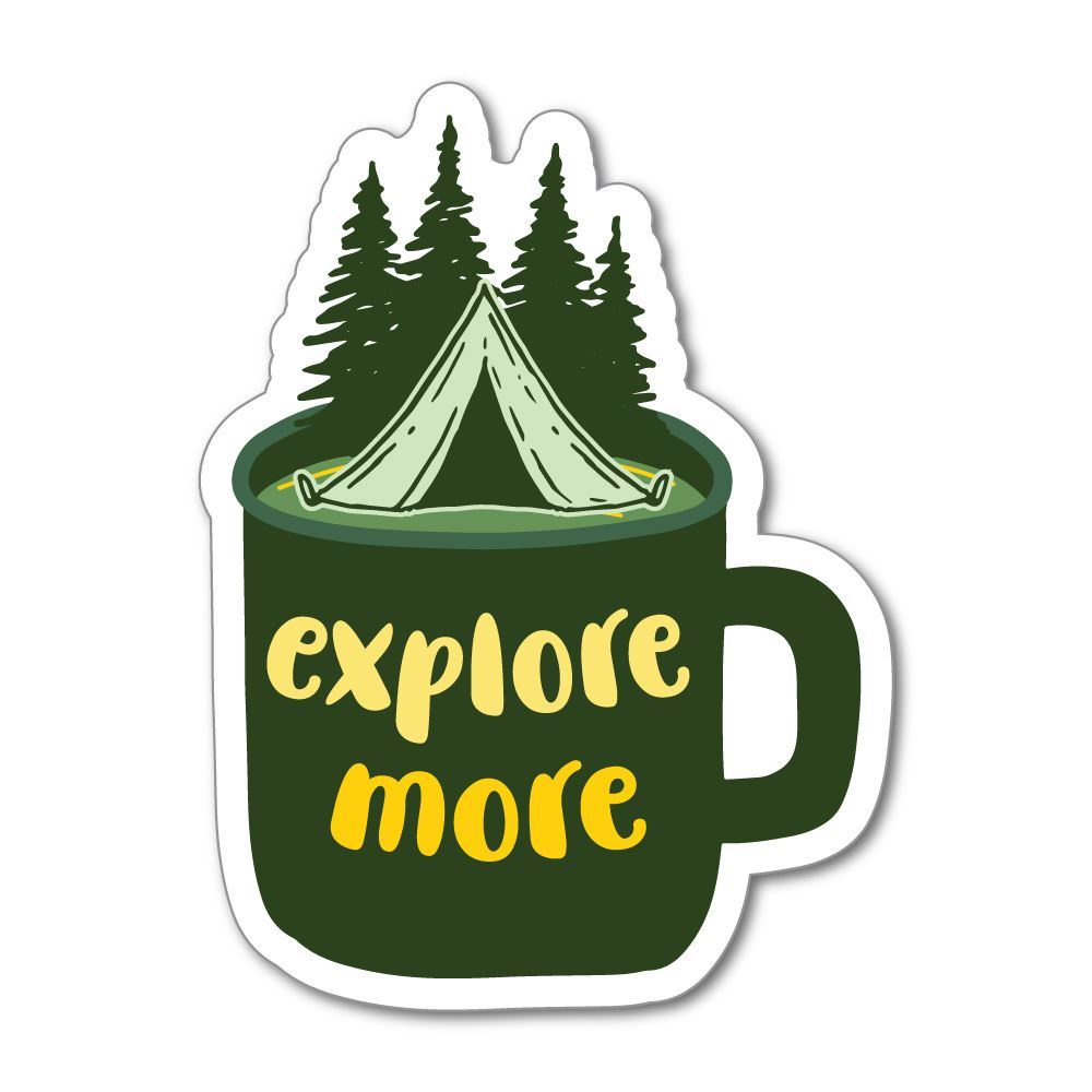 Explore More Sticker Decal