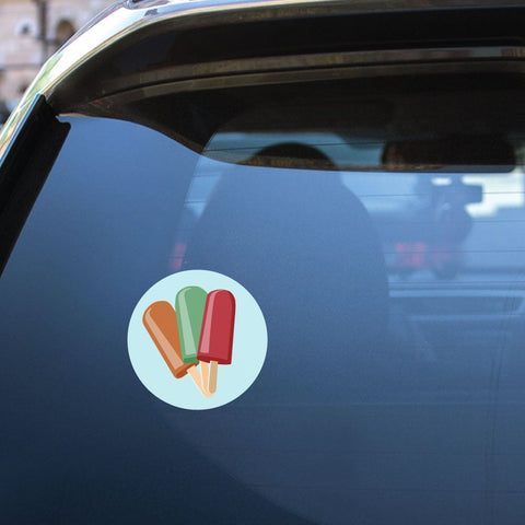Ice Cream Sticker Decal