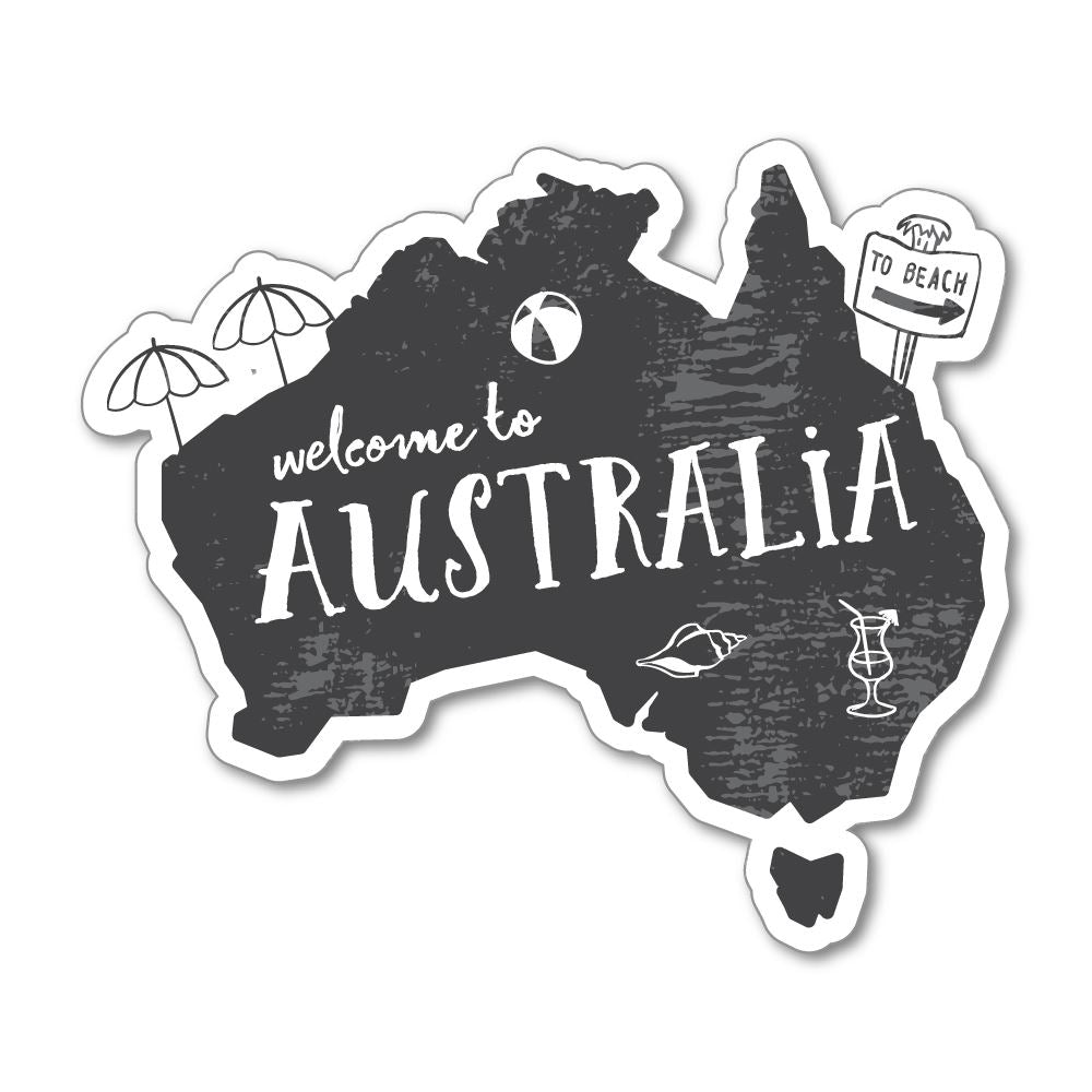 Australia Sticker Decal